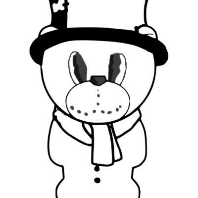 snowman_bear_digistamp_sm