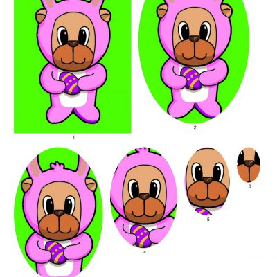 easter_bear_pyramid_paper_pink_01
