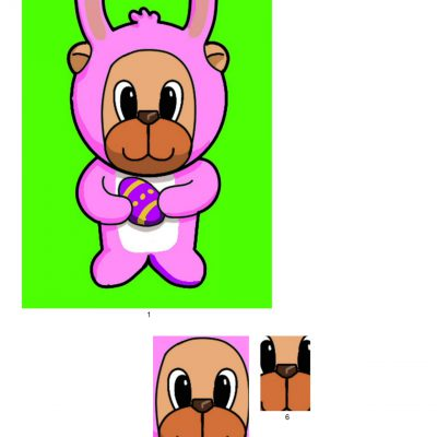 easter_bear_pyramid_paper_pink_06_a