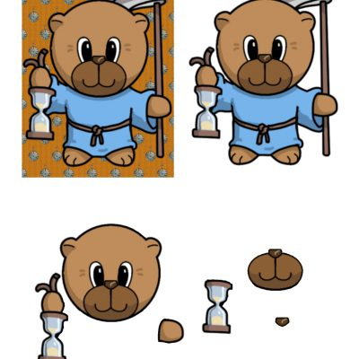father_time_bear_decoupage_sm