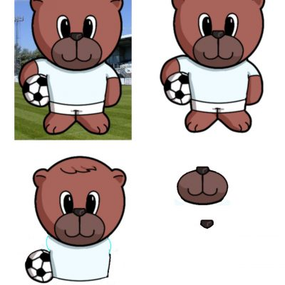footballer_bear_decoupage_sm