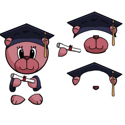 graduation-bear-female-decoupage-med-b