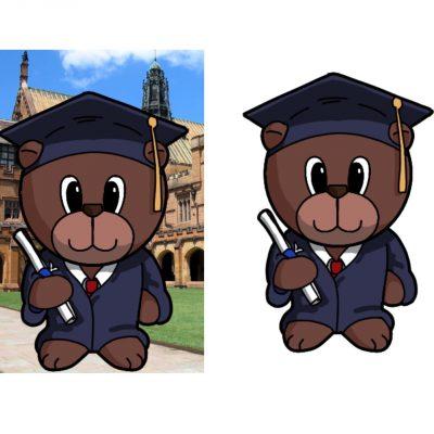 graduation-bear-male-decoupage-med-a