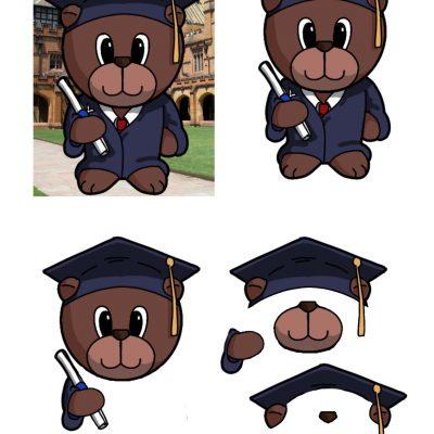 graduation-bear-male-decoupage-sm