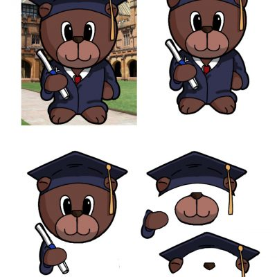 graduation-bear-male-decoupage-sm