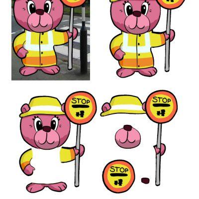 a6_lollipop_bear_decoupage