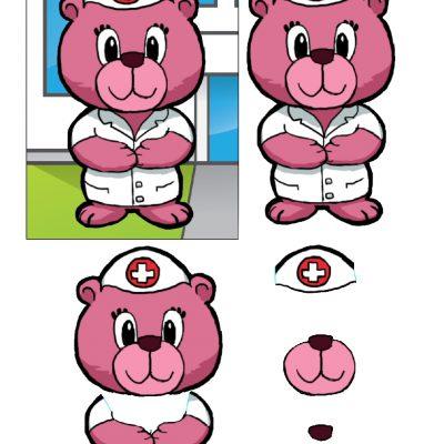 5x7_nurse_bear_decoupage