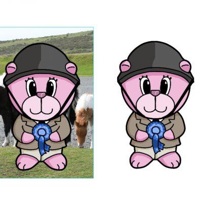 pony_club_bear_decoupage_med_a