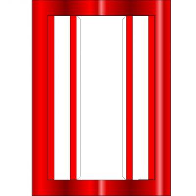 a5_box_frame_templatemulti_red