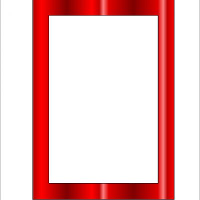 5x7_frame_template_multi_red