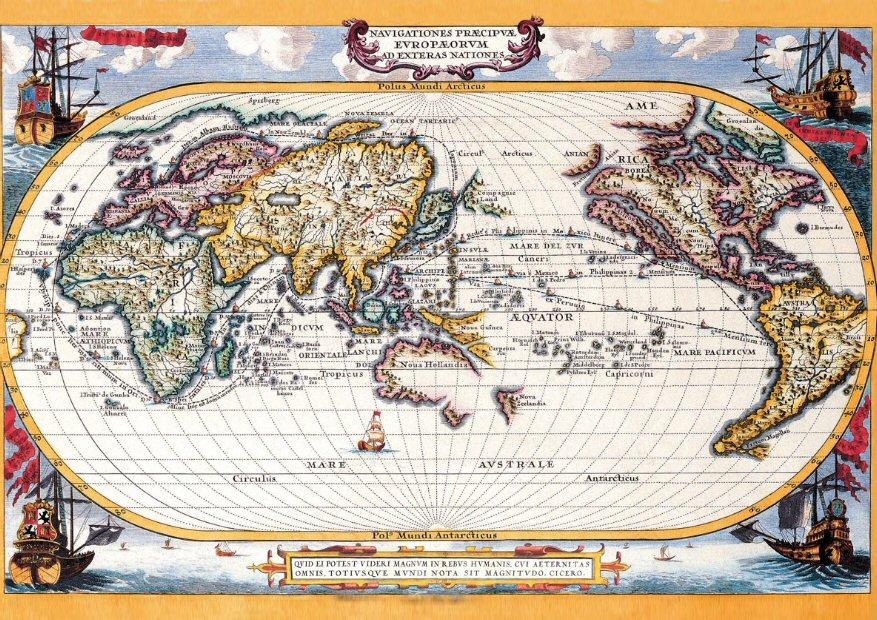 Maps A6 Landscape.