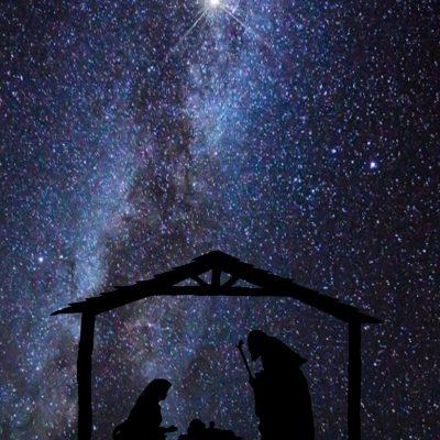 christmas-silhouettes-nativity-a4