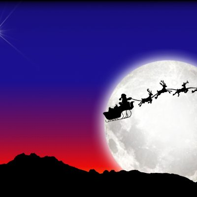 santa-and-sleigh-a4-landscape-01