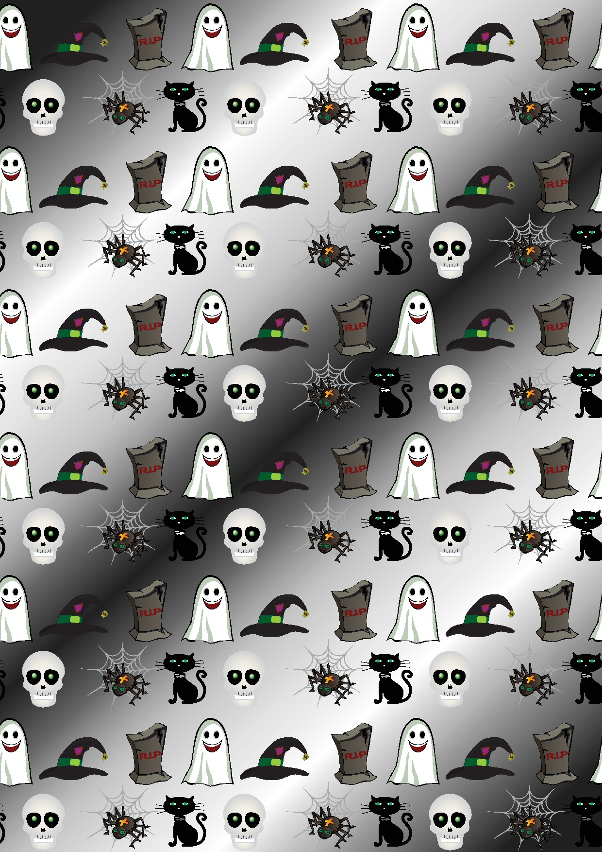 1. Halloween Craft Papers Archived Sets.