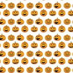 Free Halloween Pumpkin themed craft papers.