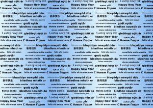 Happy New Year Words.