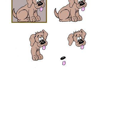 Cute_Puppy_Decoupage