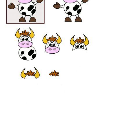 Cute_cow_decoupage