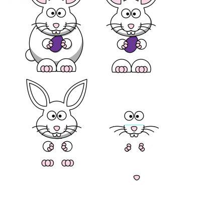 rabbit_01_decoupage