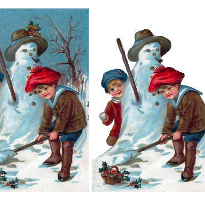 snowman_decoupage_65a