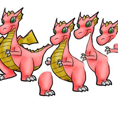 dragon_female_decoupage_med