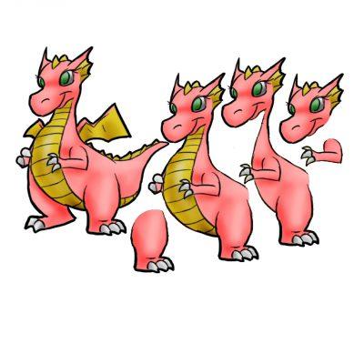 dragon_female_decoupage_sm