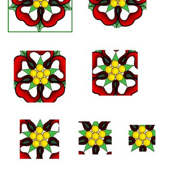 Tudor_Rose_Pyramid