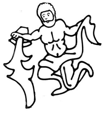 Aquarius digi stamp.