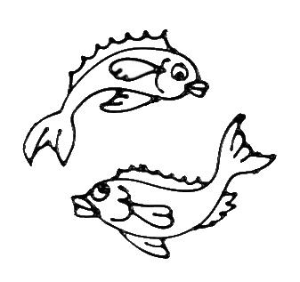 Pisces digi stamp.