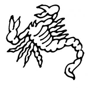 Zodiac Digi Stamps.