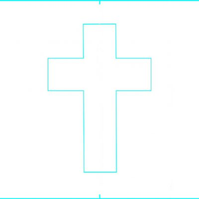 5x7_cross_middle Basic Card Making.