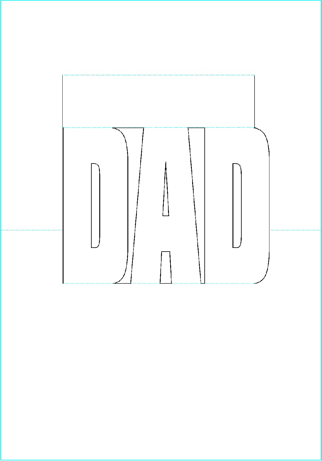 Fathers Day Templates.