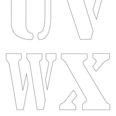 4_inch_letter_stencil_uvwx