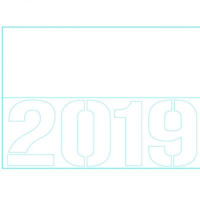 2019-a5-stencil