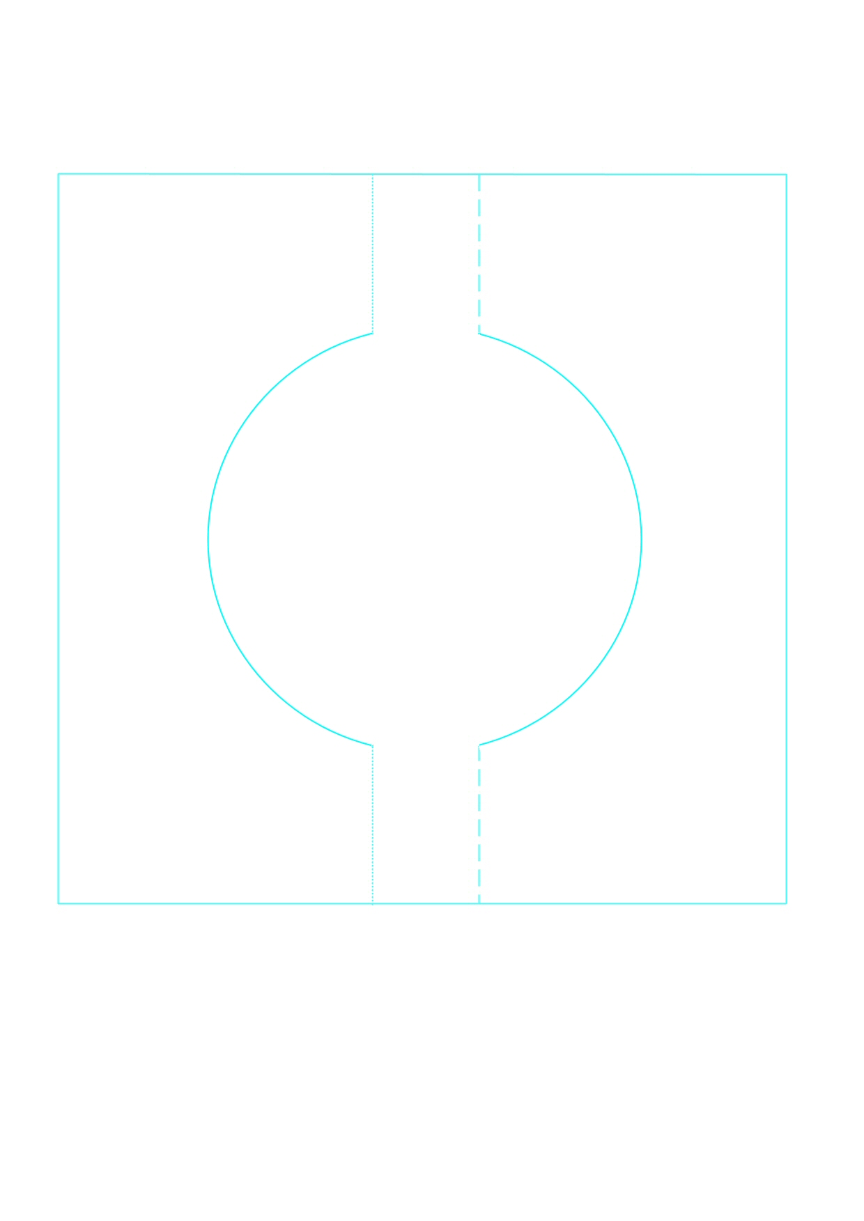 Swivel Card Templates Round.